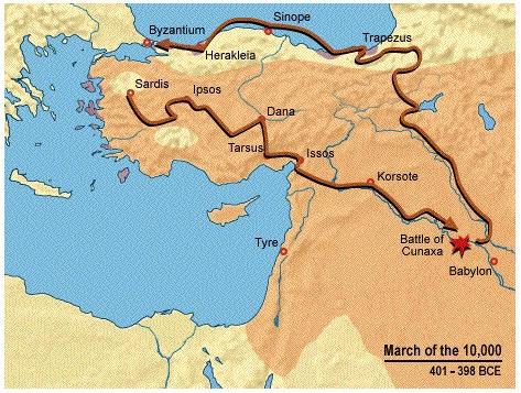 mapa anabasis