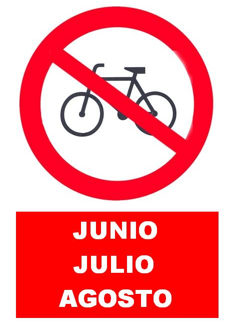 Señal bicicletas